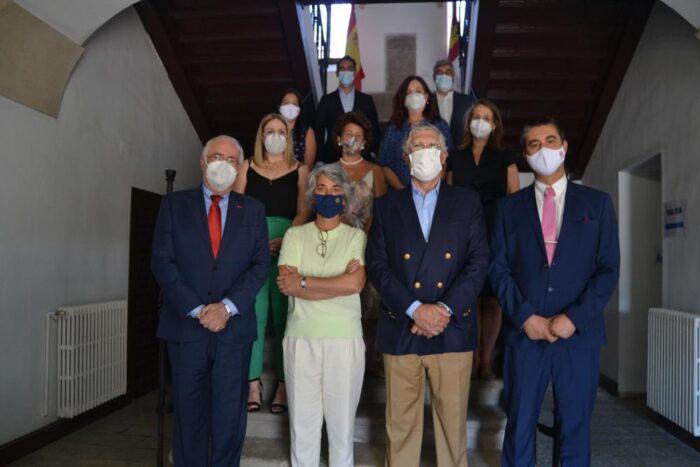 Recepción en Almagro a la Ministra de Cultura de Portugal