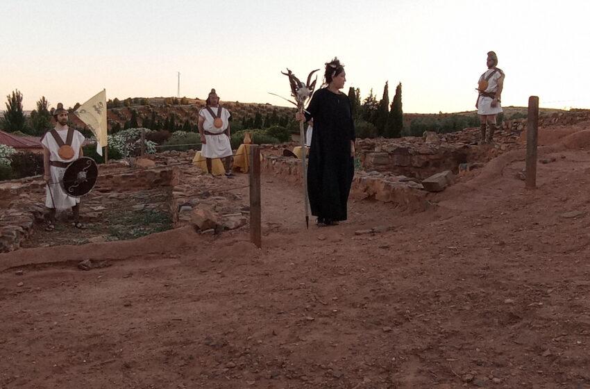 Visita teatralizada al yacimiento íbero Cerro de las Cabezas de Valdepeñas