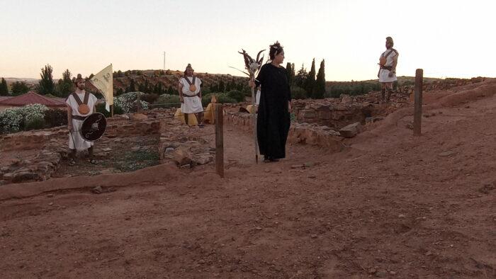 Visita teatralizada en el Cerro de las Cabezas