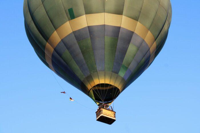 Turismo desde un globo aerostático
