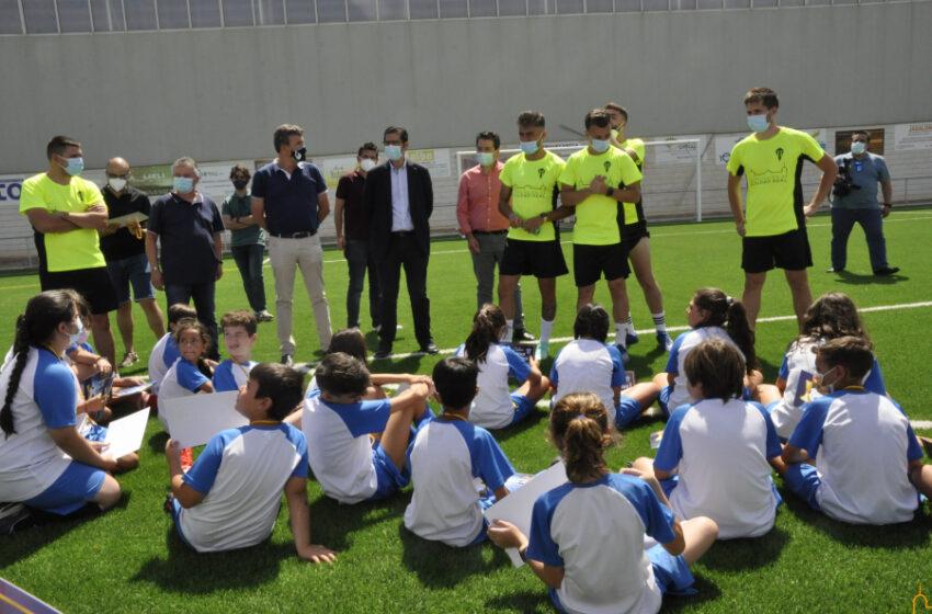 La Diputación colabora en la mejora de las instalaciones deportivas de Valenzuela