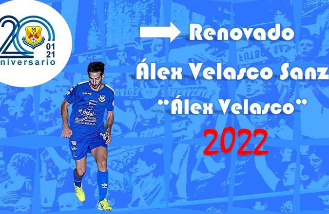Álex Velasco renueva con Manzanares una temporada más