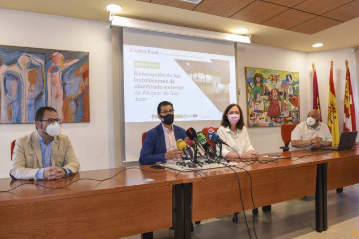 Presentación de la renovación del alumbrado público