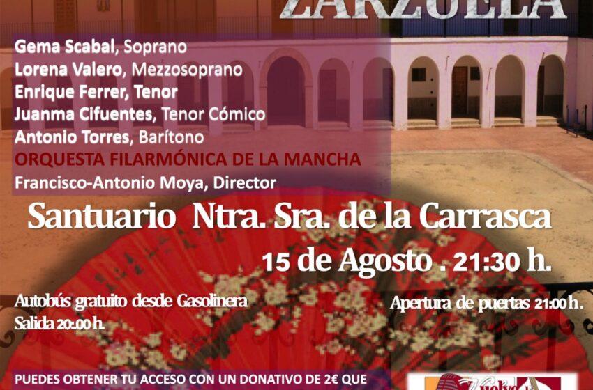 Villahermosa se vestirá de gala para recibir a los grandes éxitos de la Zarzuela