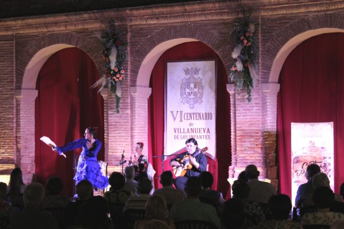 Espectáculo de cante, copla, guitarra y baile flamenco: FLAMENQUEANDO