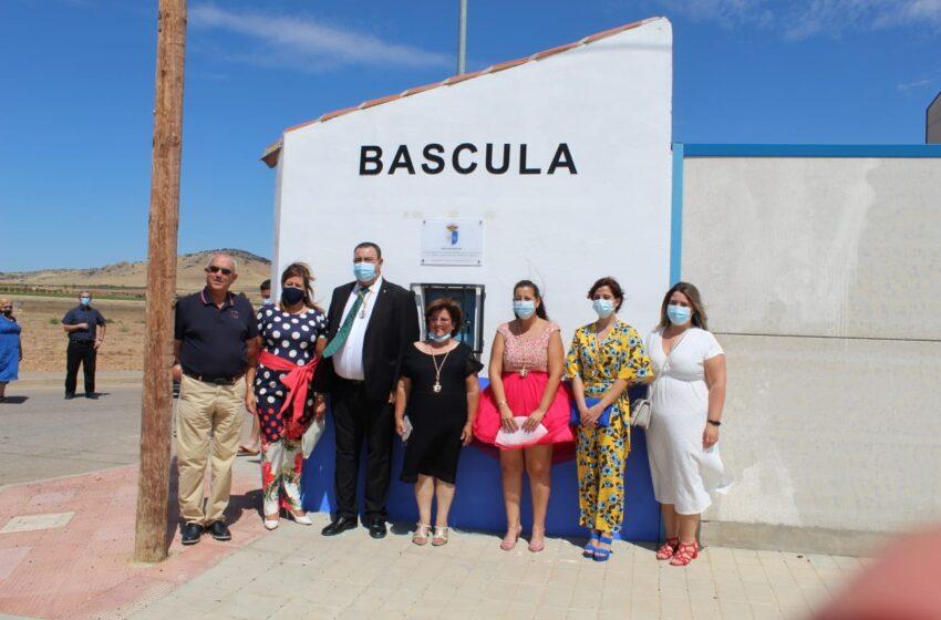 Granátula de Calatrava inaugura su Báscula Municipal