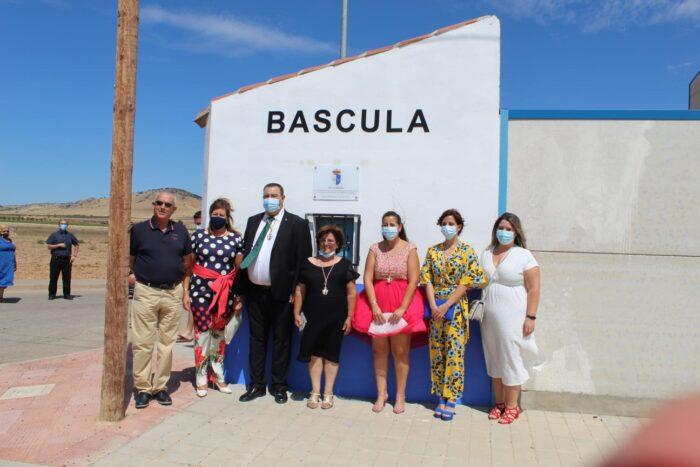 Inauguración Báscula Municipal