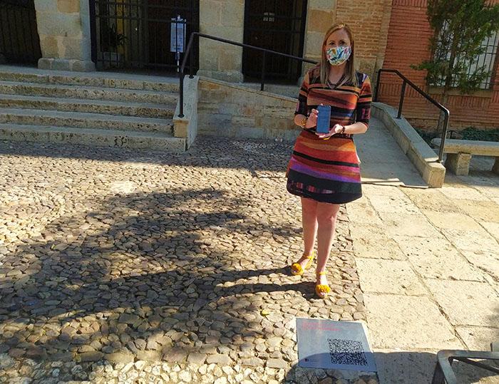 Nuevas placas con códigos QR en los lugares turísticos de Valdepeñas