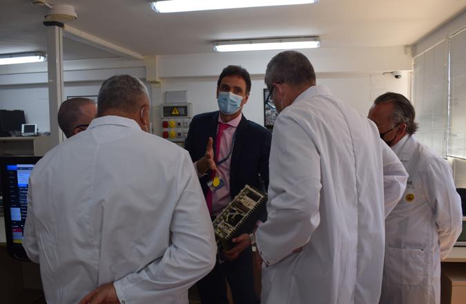 El Jefe de Estado Mayor del Ejército y el Mando de Apoyo Logístico visitan la sede de Grupo Oesía en Valdepeñas para conocer sus capacidades tecnológicas