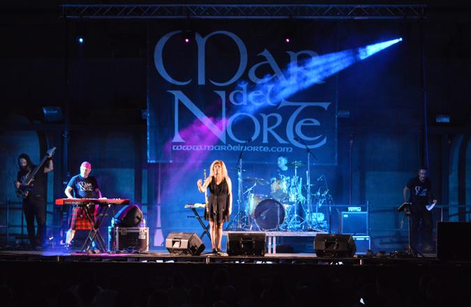 """Bodegas A7 acogió el concierto de Mar del Norte con su """"Directo Rock Celta"""""""