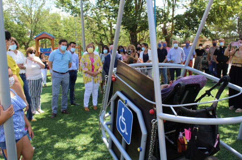 El Gobierno de Castilla-la Mancha subvenciona un parque infantil adaptado en Bolaños de Calatrava