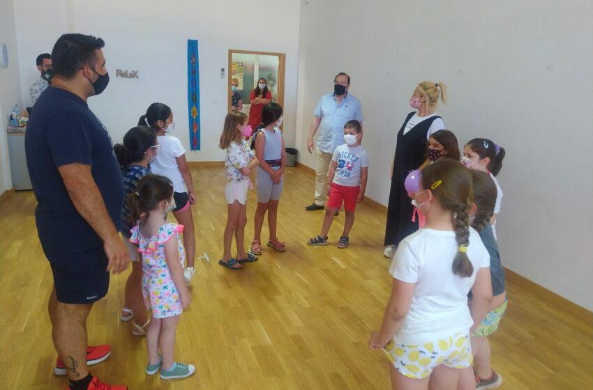 Comienza la UP Junior de Verano en Valdepeñas, que ofrece clases 'a la carta'