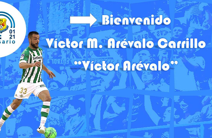 Víctor Arévalo, primer refuerzo de Manzanares para su debut en Primera