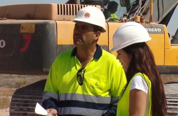 La empresa Barahona Obras y Servicios se suma al proyecto de Manzanares como patrocinador premium