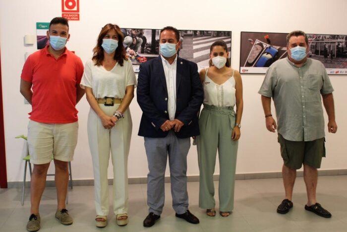 Inauguración de la exposición 'Peatón, no atravieses tu vida'