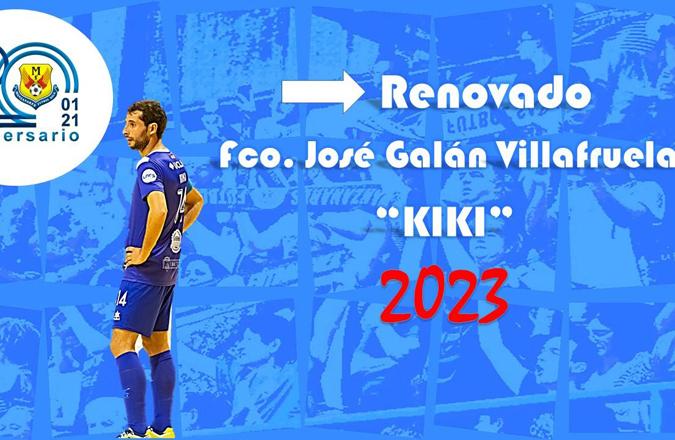 Kiki amplía su vinculación con Manzanares hasta la temporada 2022-2023