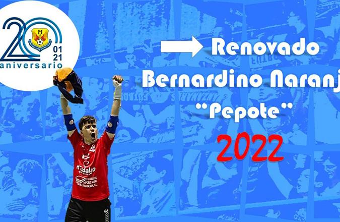 Pepote defenderá la portería de Manzanares por novena temporada
