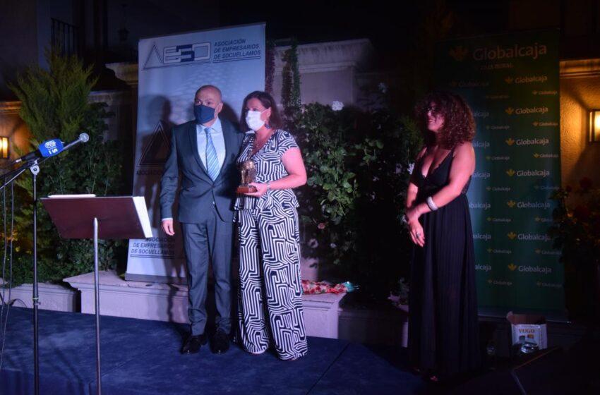 Patricia Franco ha sido reconocida por la Asociación de Empresarios de Socuéllamos