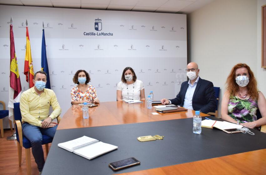 Patricia Franco se ha reunido en la mañana de hoy con la alcaldesa de Miguelturra, Laura Arriaga