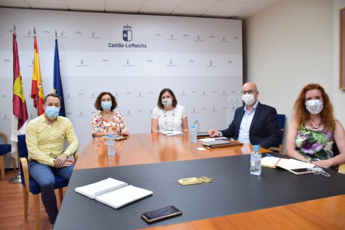 Patricia Franco se ha reunido con la alcaldesa de Miguelturra, Laura Arriaga