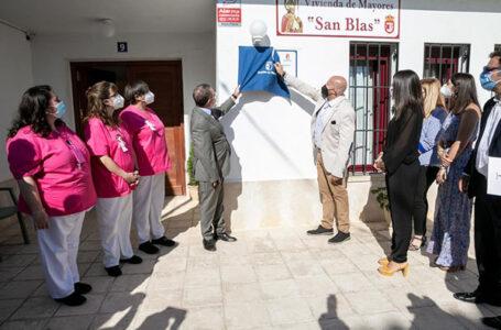 El presidente de Castilla-La Mancha ha inaugurado la Vivienda de Mayores de Torrubia del Campo