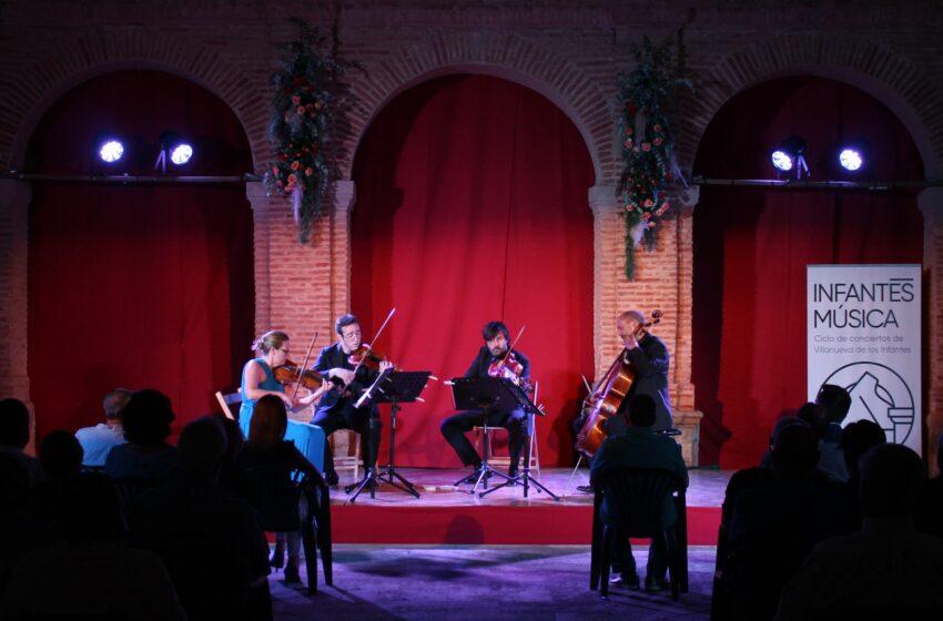 El Cuarteto Leonor actúa en el ciclo de Conciertos InfantesMúsica