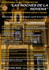 La Hermandad del Stmo. Cristo de la Misericordia y María Stma. de la Palma, organiza un programa de actividades bajo el título de «Las noches de la Novena»
