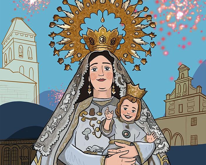 El arte de Keila García traslada un mensaje de esperanza en el cartel de las celebraciones patronales de Argamasilla de Calatrava