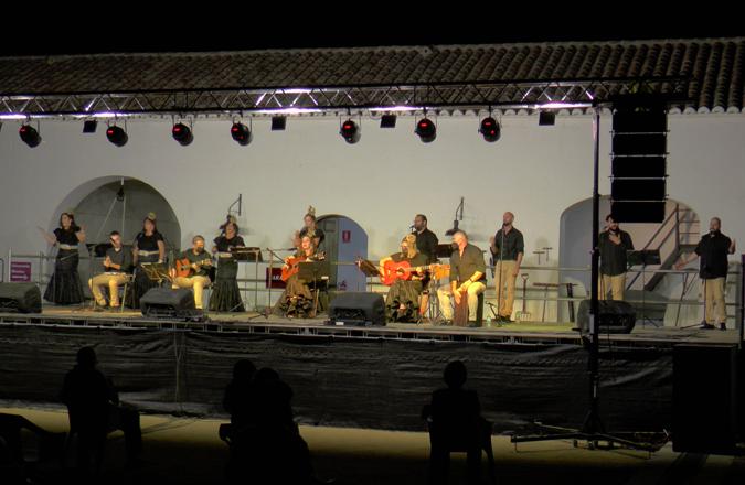 El Museo del Vino acogió el concierto del Coro Alma Rociera