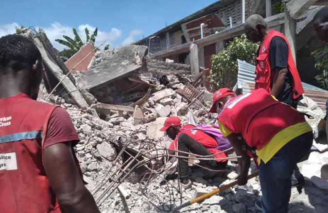 La respuesta en Haití, uno de los más de 150 proyectos humanitarios de Cruz Roja Española en Cooperación Internacional