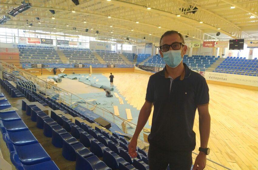 Valdepeñas estrenará la nueva pista de fútbol sala el 4 de septiembre
