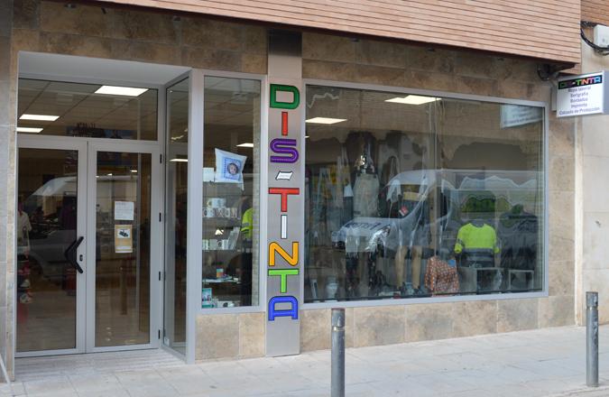 Dis-Tinta, tu tienda de consumibles, serigrafía, ropa laboral y más ahora el C/ Bernardo de Balbuena 36
