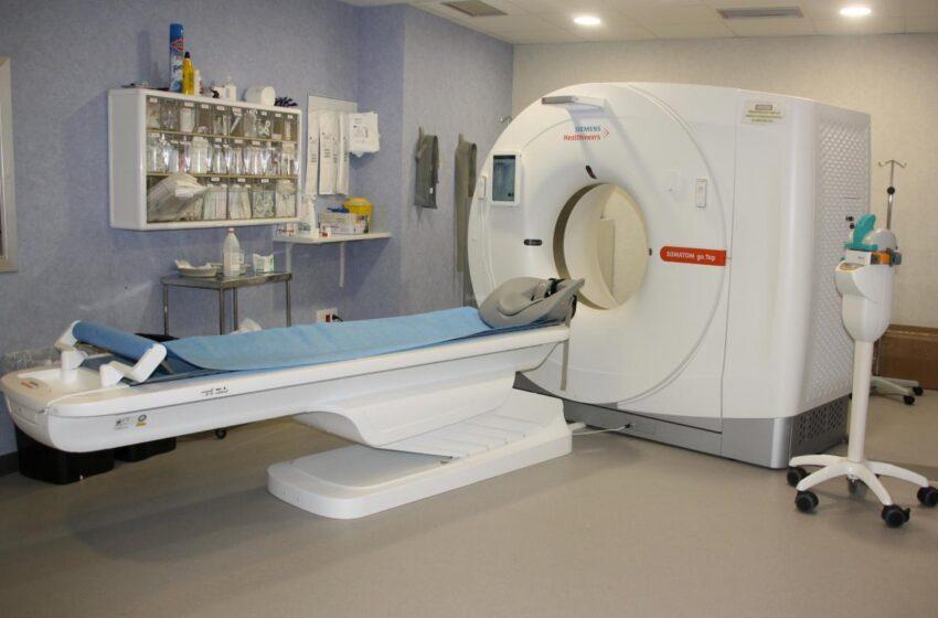 El Gobierno de CLM dota al Hospital Mancha Centro de un moderno equipo TC de 64 cortes y un equipo de radiología que incluye telemando