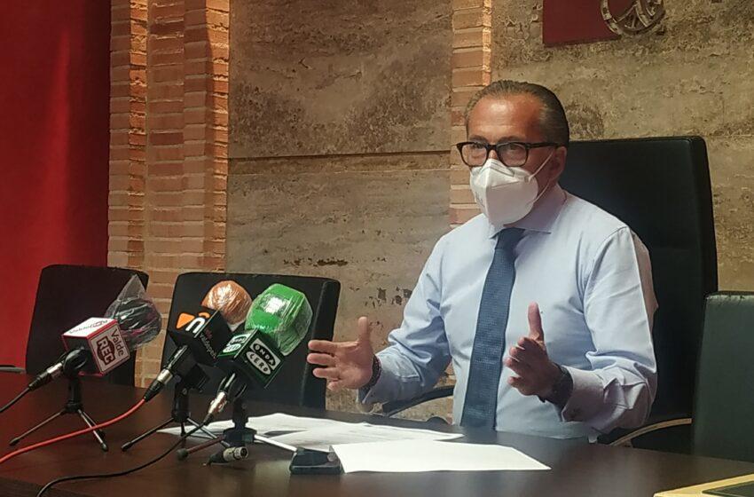 El portavoz del equipo de gobierno de Valdepeñas ha presentado el Pleno Extraordinario de Agosto