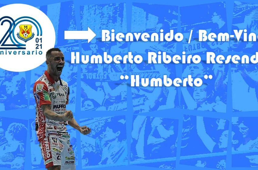El brasileño Humberto, cuarto fichaje de Manzanares Fútbol Sala Quesos El Hidalgo