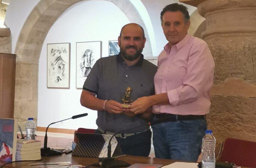 Francisco Endrino presenta su libro 'Aspas Rojas en la bruma' en Villanueva de los Infantes