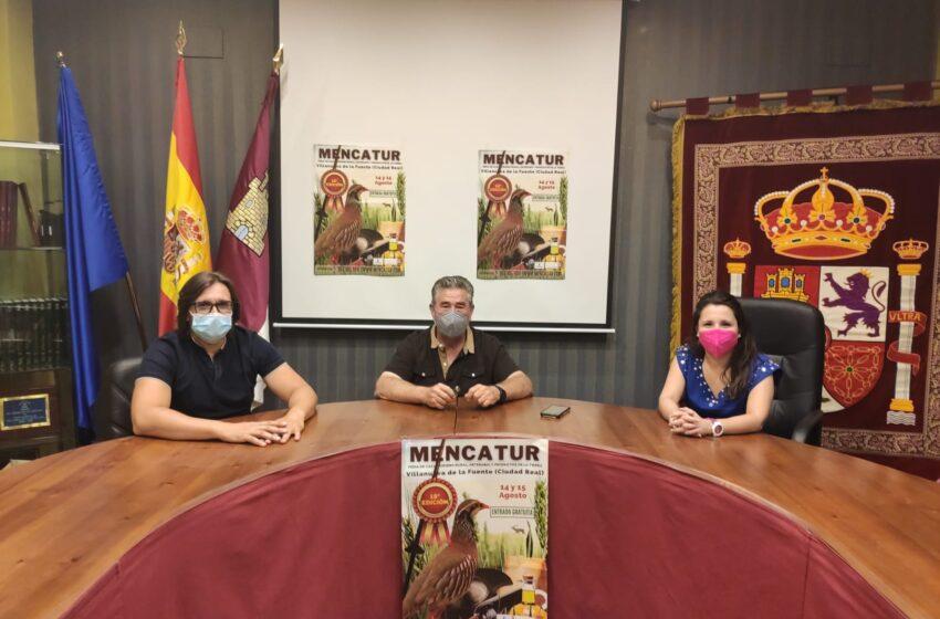 Inauguración de Mencatur, Feria de Caza, Turismo Rural, Artesanía y Productos este Sábado 14 de Agosto  en Villanueva de la Fuente