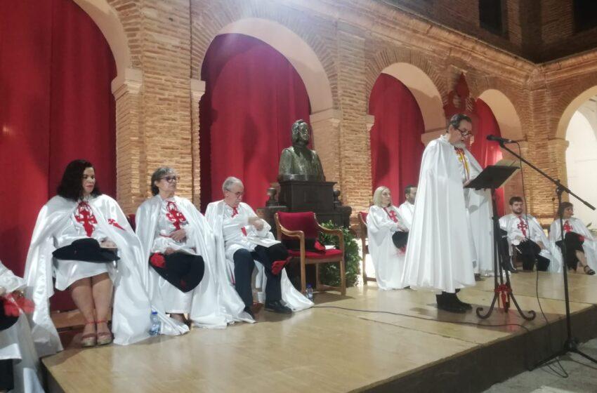 Presentación del Libro VI Centenario a cargo de la  Orden Literaria Francisco de Quevedo en Villanueva de los Infantes