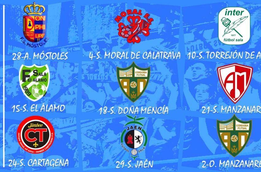 Manzanares Fútbol Sala Quesos El Hidalgo  disputará nueve amistosos en pretemporada