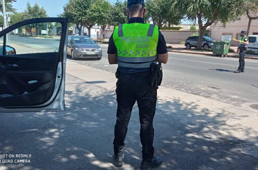 La policía local de Moral de Calatrava refuerza su presencia en las calles durante las fiestas
