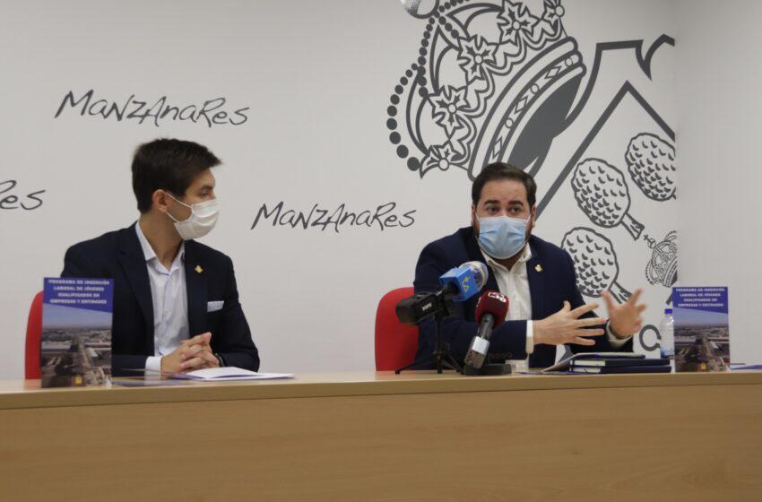 """Manzanares presenta un """"ambicioso y pionero"""" plan de empleo juvenil"""