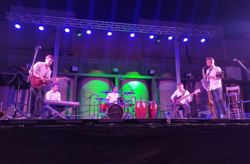Syrah Jazz en las Noches de A7 en Valdepeñas