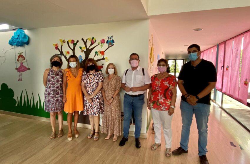 La viceconsejera de Promoción de la Autonomía y Prevención de la Dependencia, Ana Saavedra visita La Solana