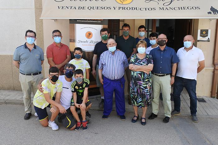 La DO Queso Manchego, imagen de la calidad agroalimentaria de Castilla-La Mancha en el mundo