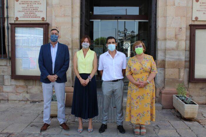 Visita institucional a Almagro