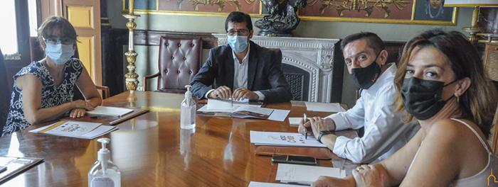 La Diputación e Inciso acuerdan vías de coordinación para promover el empleo y cuidado de los mayores en la provincia