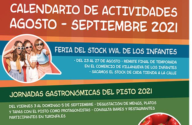 Actividades recuerdo Feria del Pisto Campo de Montiel