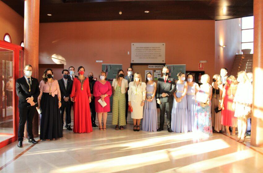 Carmen Olmedo ha asistido esta tarde a la gala de clausura de la LXX edición de la Fiesta de las Artes y las Letras en Tomelloso
