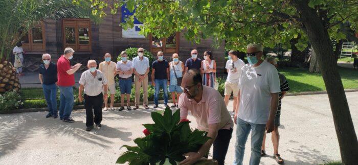 Homenaje a las víctimas de la tragedia hace 18 años en Repsol-Puertollano