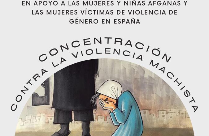 Izquierda Unida Valdepeñas convoca una concentración en apoyo a las mujeres y niñas afganas y víctimas del terrorismo machista en España